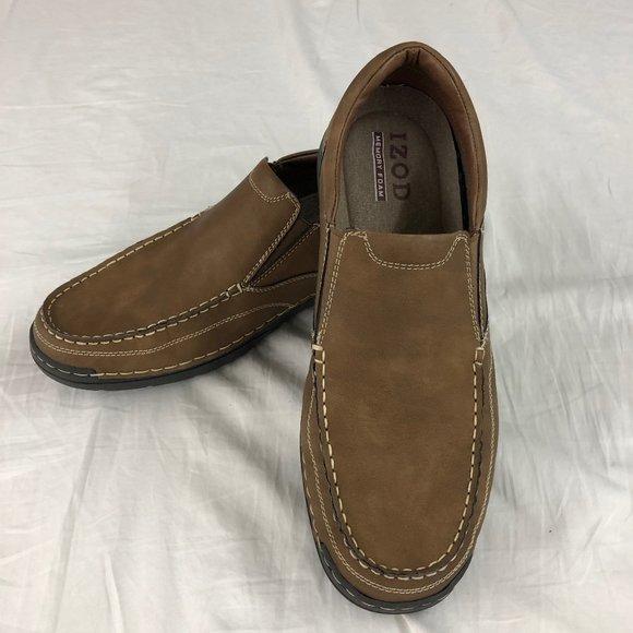 """IZOD Men's """"Jeffery"""" Side Gore Slip On Shoes"""